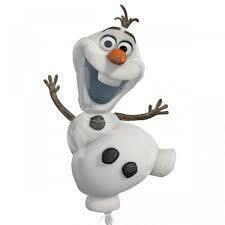"""34"""" Χιονάνθρωπος Olaf Frozen Foil Μπαλόνι"""