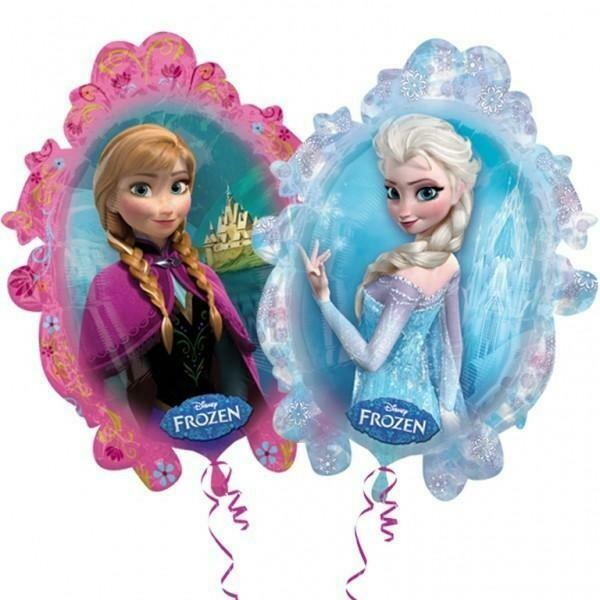 """30"""" Frozen Elsa & Anna Foil Μπαλόνι"""
