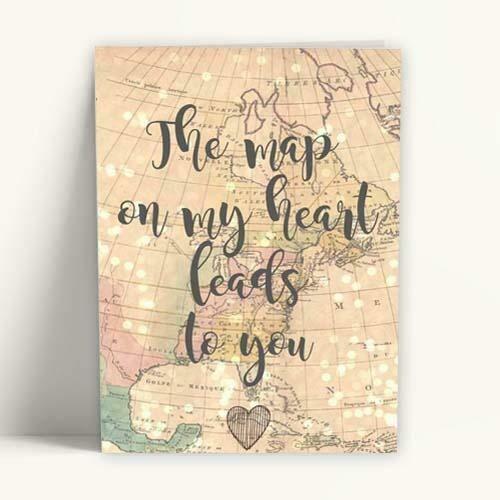 Κάρτα Αγάπης Love Map