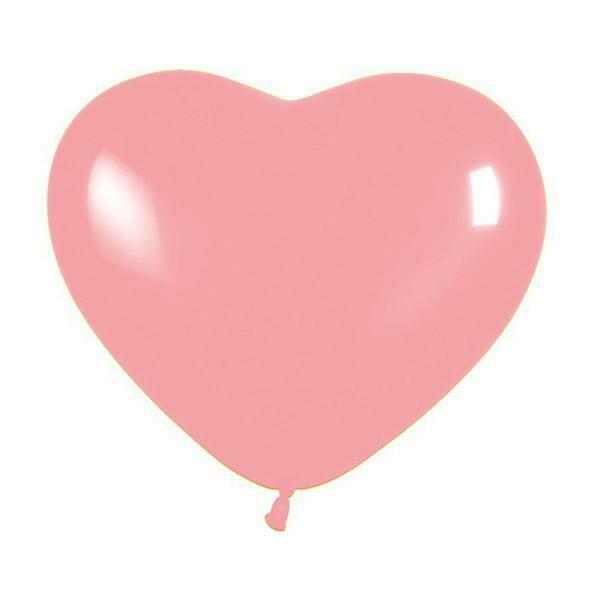 5'' Ροζ Καρδιά Λάτεξ Μπαλόνι