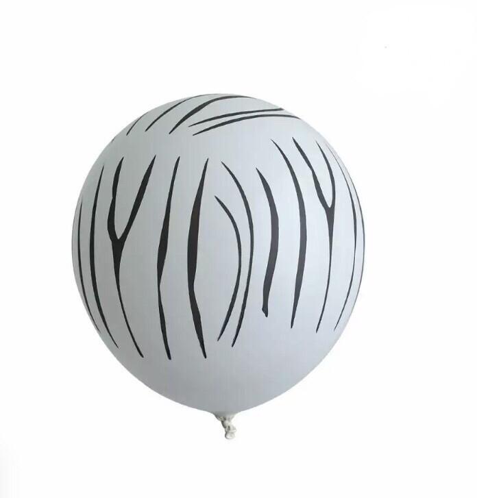 """Μπαλόνι 12"""" Ζέβρα"""