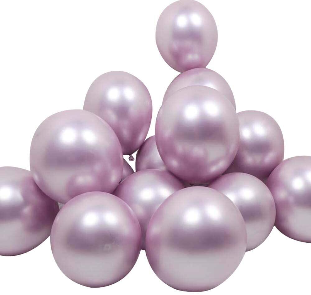 """Μπαλόνι ανοιχτό μωβ Metallic 12"""" 1τμχ"""