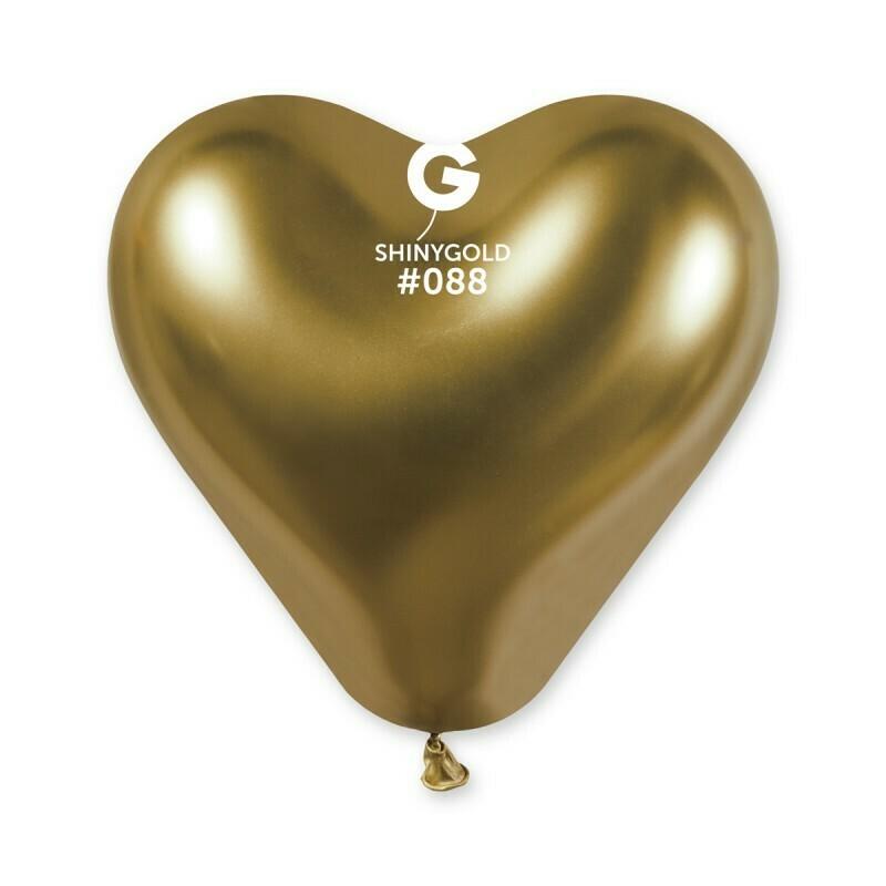 Shiny καρδιά χρυσή