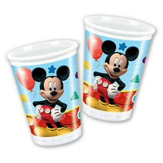 Ποτήρια Mickey Mouse (8 τεμ)