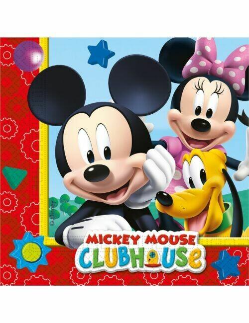 Χαρτοπετσέτες Mickey Mouse (20 τεμ)