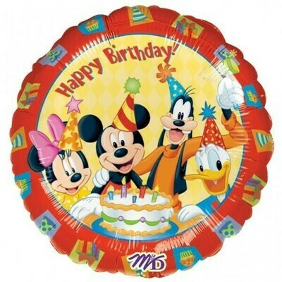 Mickey Mouse and Friends 'Happy Birthday' Foil Balloon 18