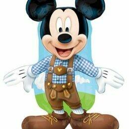 "38"" Mickey Mouse Αγρότης Foil Μπαλόνι"