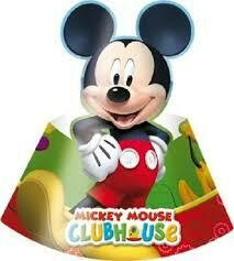 Καπελάκια Mickey Club House'' (6 τεμάχια)