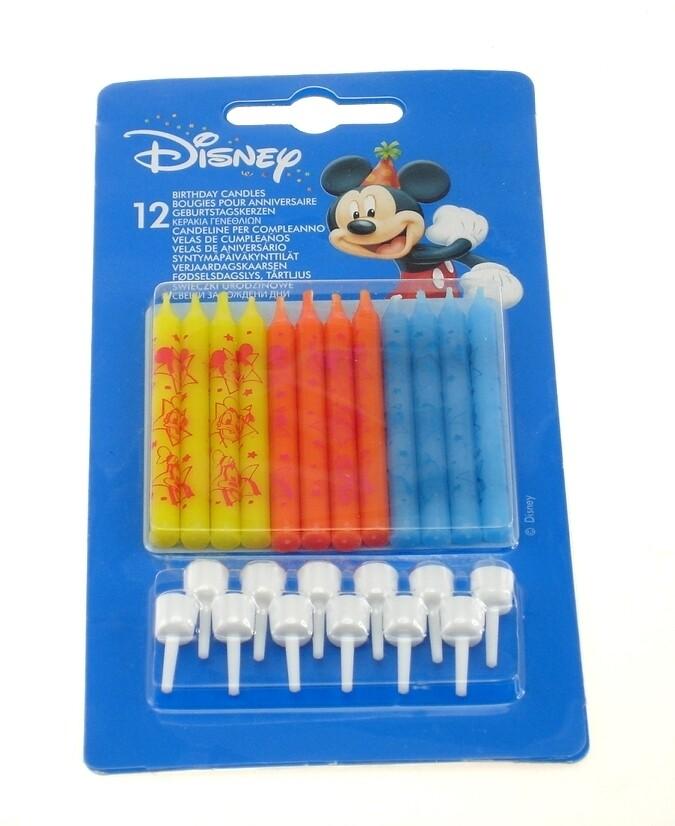 Κεριά Disney 12τμχ