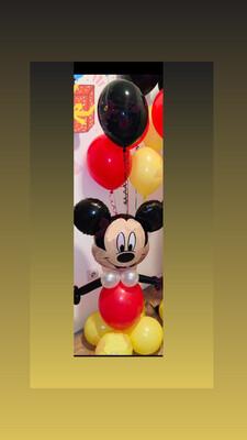 Σύνθεση Mickey με ήλιο