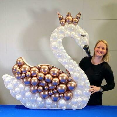 Καλούπι μπαλονιών κύκνος(ΕΝΤΟΣ ΚΑΛΥΜΝΟΥ)