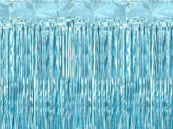 Γαλάζια Κουρτίνα Foil