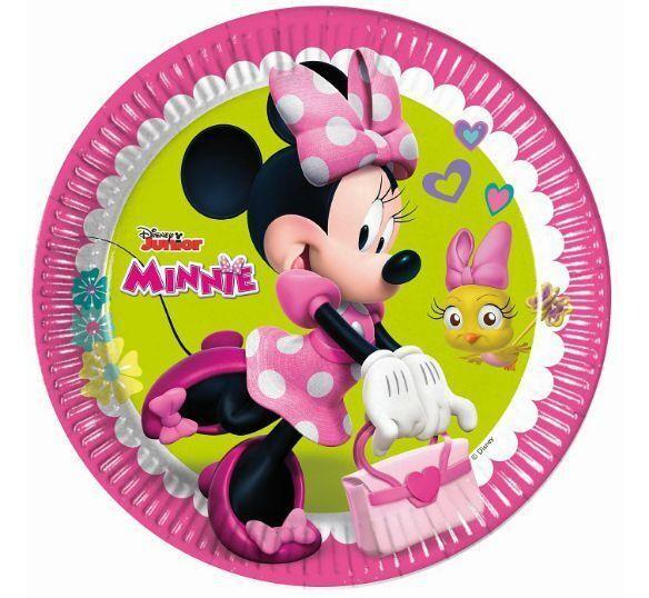 Πιάτα φαγητού Minnie Happy Helpers (8 τεμ)