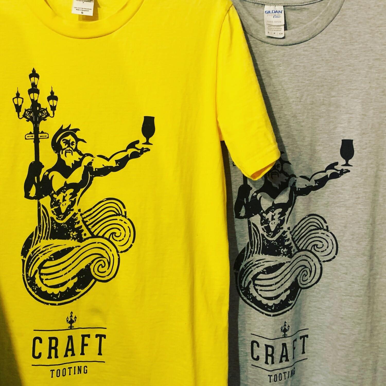 Craft Tooting T-Shirt Yellow