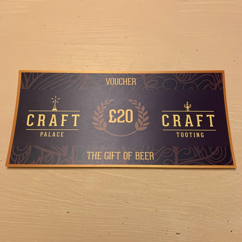 Craft Tooting £20 Voucher