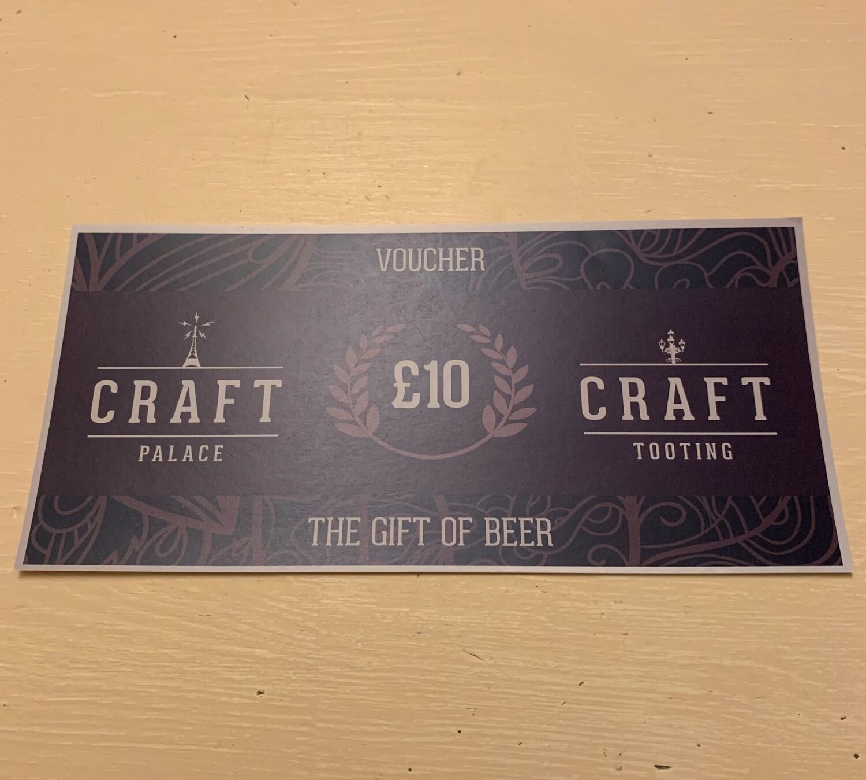 Craft Tooting £10 Voucher