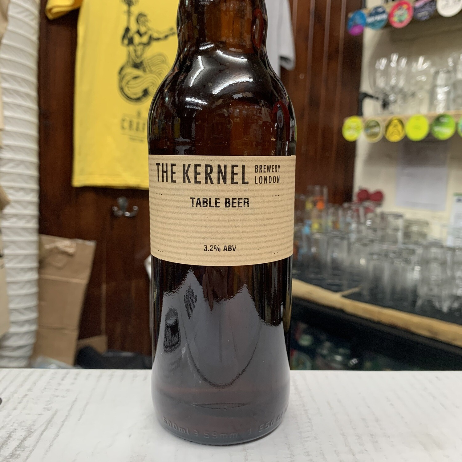 The Kernel Table Beer 500ml -  (circa 3%)
