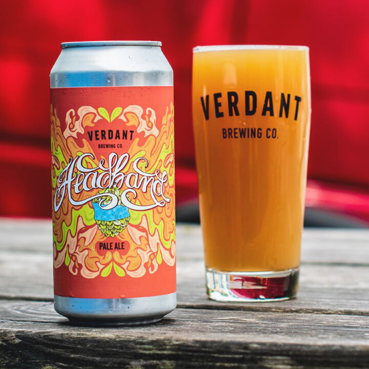 NEW Verdant 'Headband' Juicy Pale 440ml - 5.5%