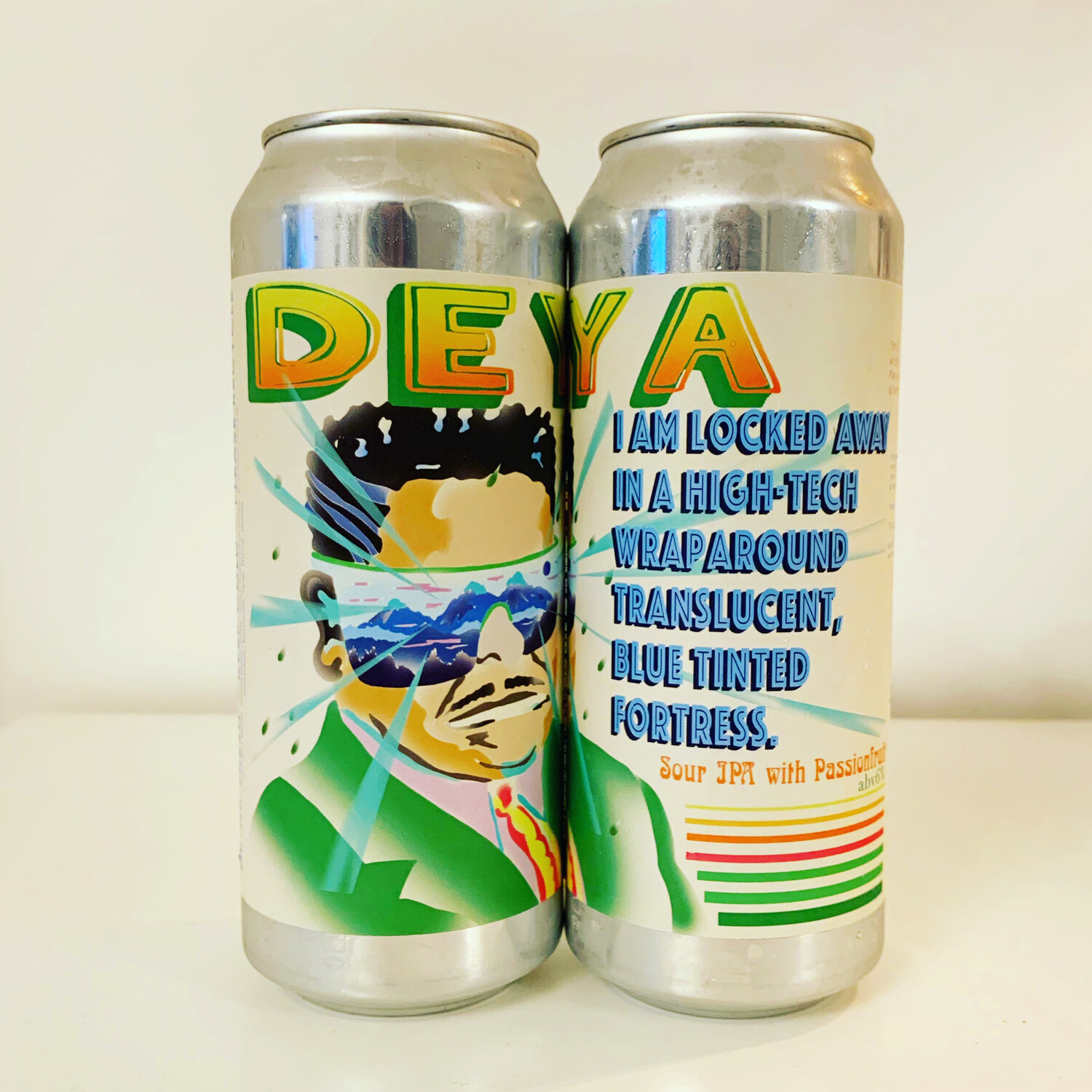 NEW DEYA 'I Am Locked Away In..' Passionfruit Sour  500ml - 6%