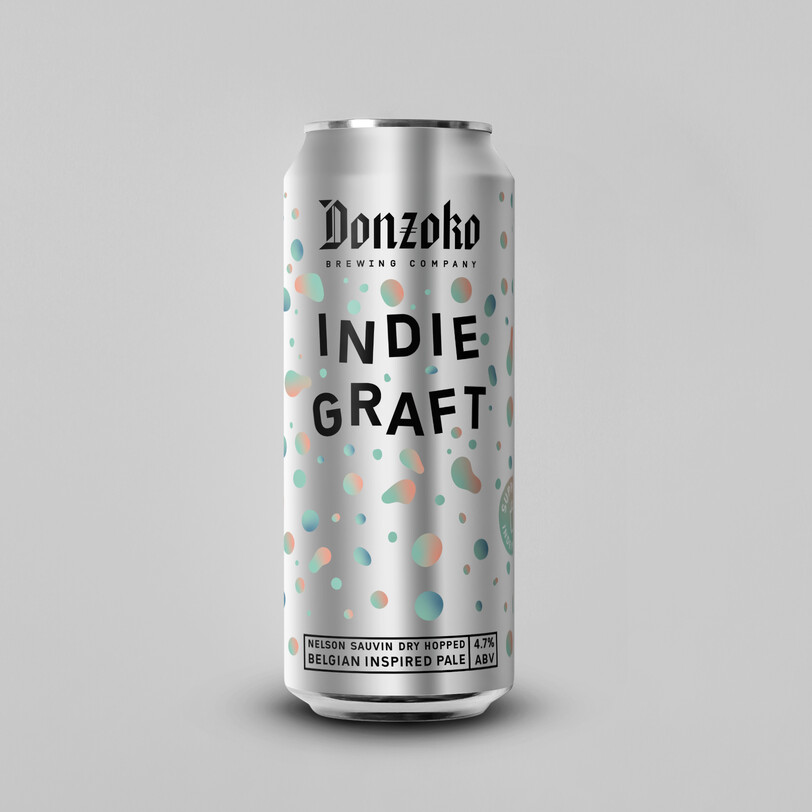 Donzoko 'Indie Graft' Belgium Pale 500ml - 4.7%