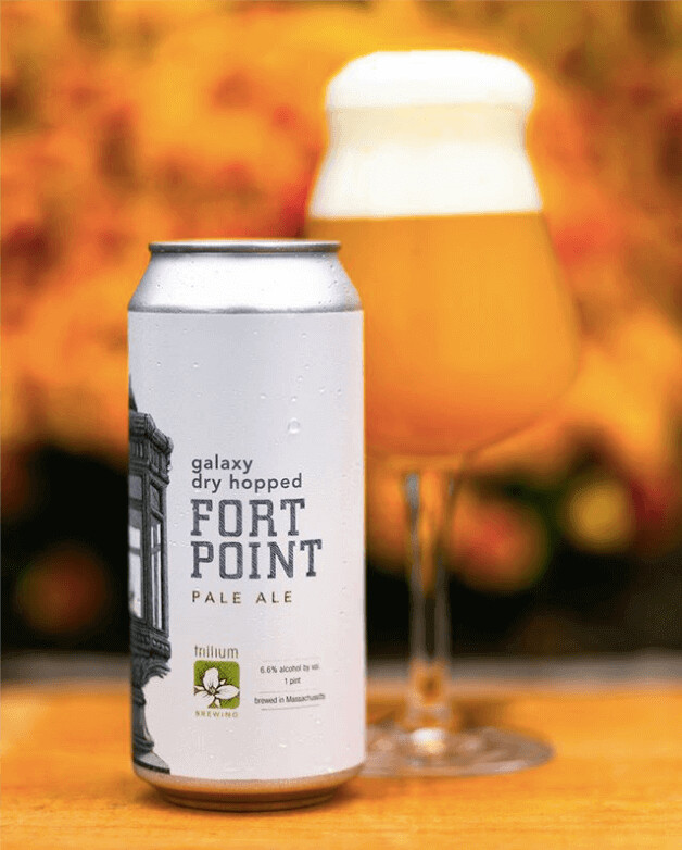 **ONE PER PERSON** Trillium 'Galaxy Dry Hopped Fort Point' IPA 473ml - 6.6%