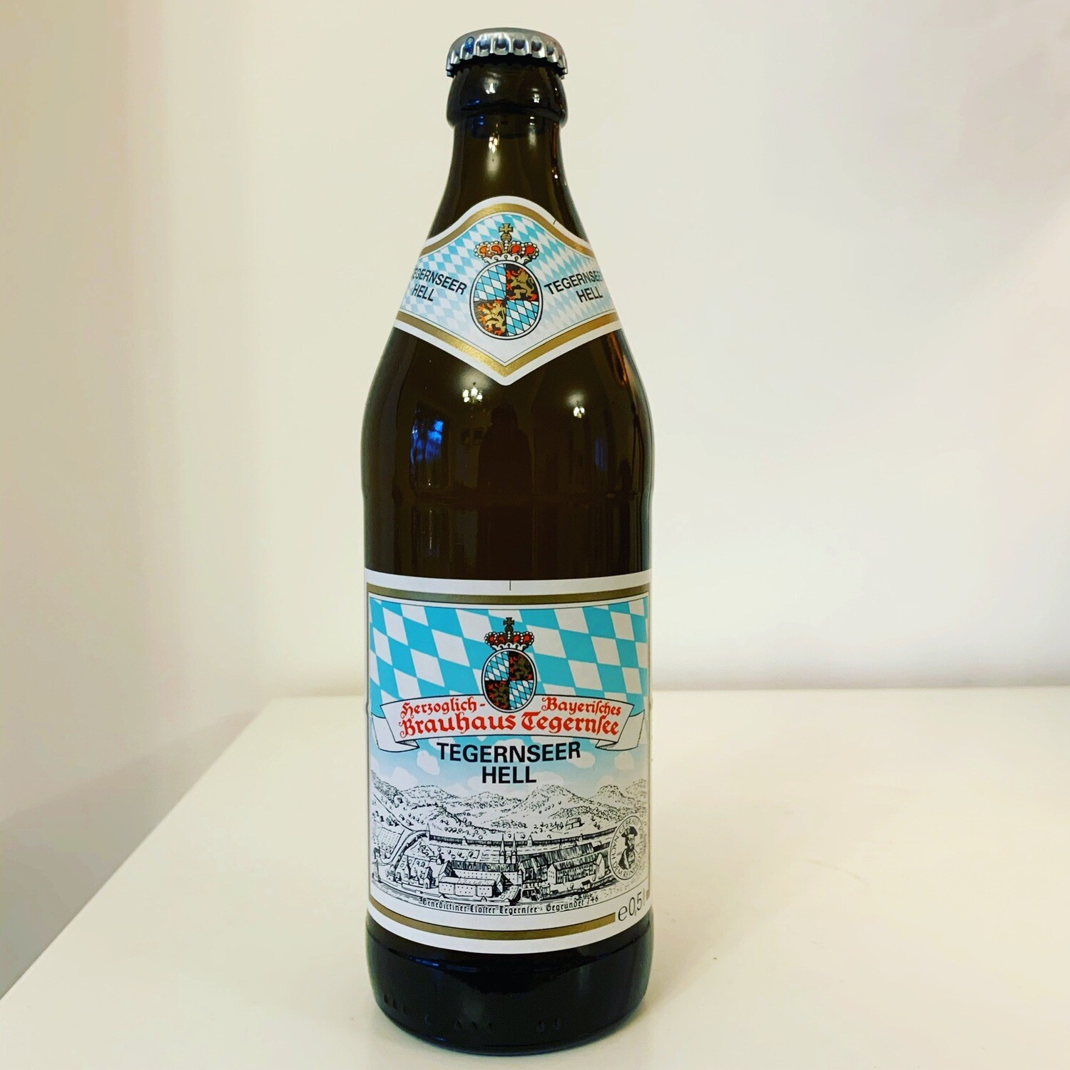 NEW Tegernsee Hell Lager 500ml - 4.8%