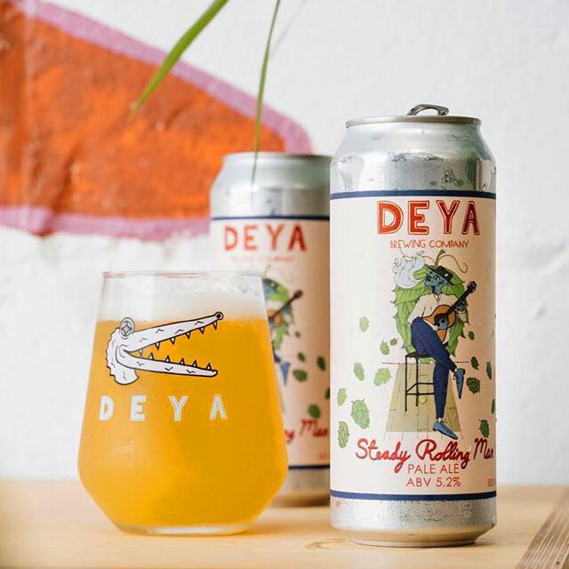 NEW DEYA 'Steady Rolling Man' Pale Ale 500ml - 5.2%