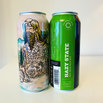 NEW Collective Arts 'Hazy State' Session IPA 473ml - 4.1%