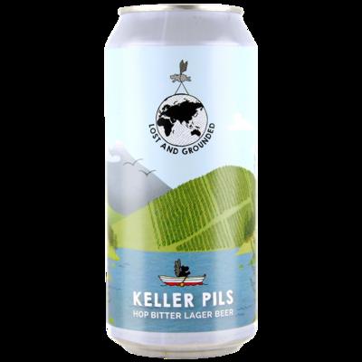 Lost & Grounded 'Keller' Pils Lager 440ml - 4.8%