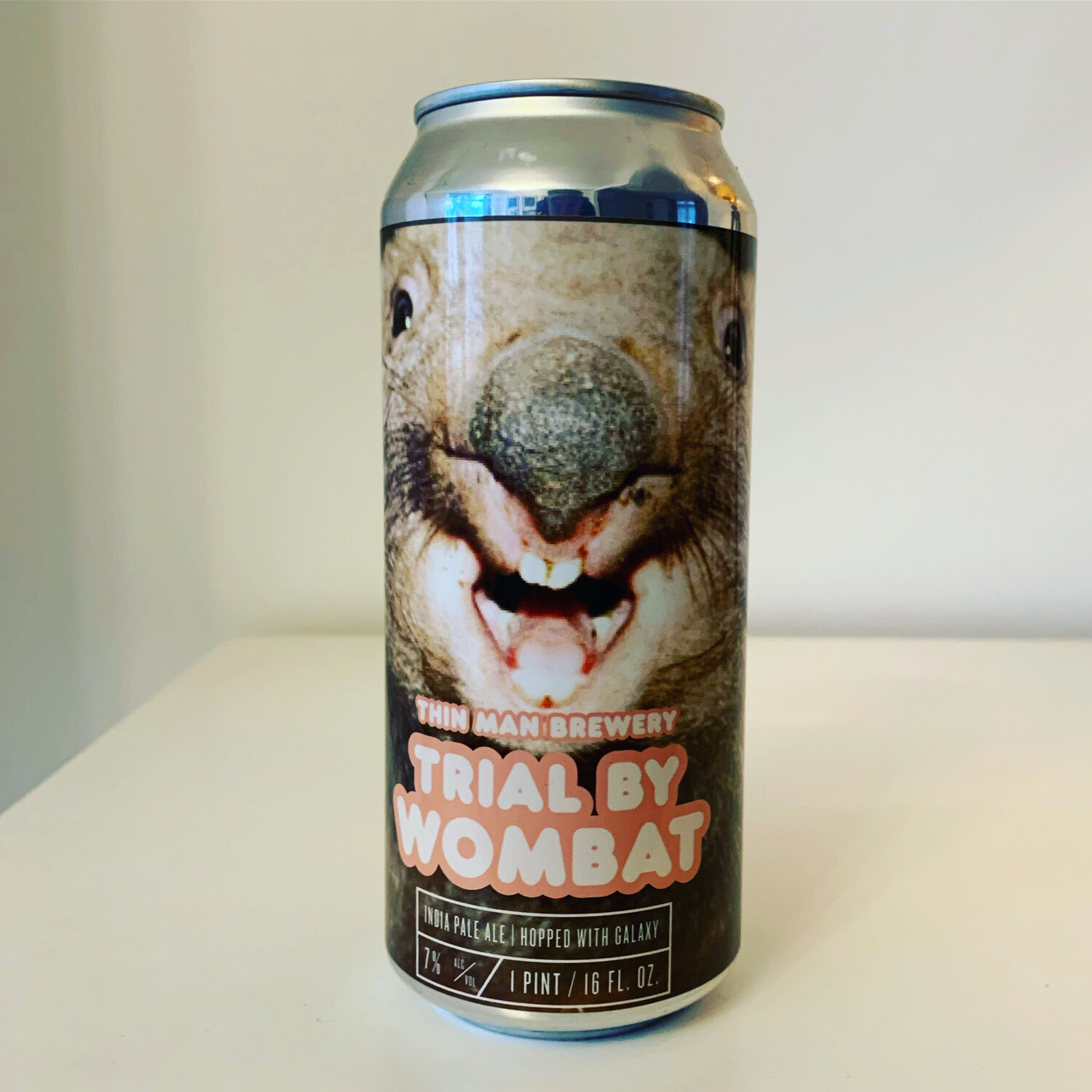 Thin Man 🇺🇸 'Trial By Wombat' IPA 473ml - 7%