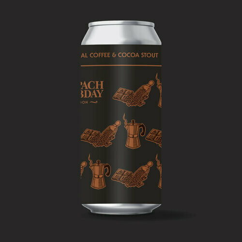 Anspach & Hobday The Imperial Coffee & Cocoa Stout 440ml - 11.5%