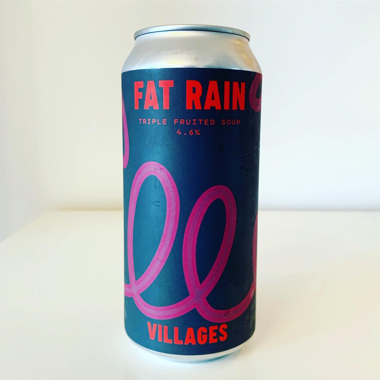 Villages 'Fat Rain' Triple Fruited Sour 440ml - 4.6%