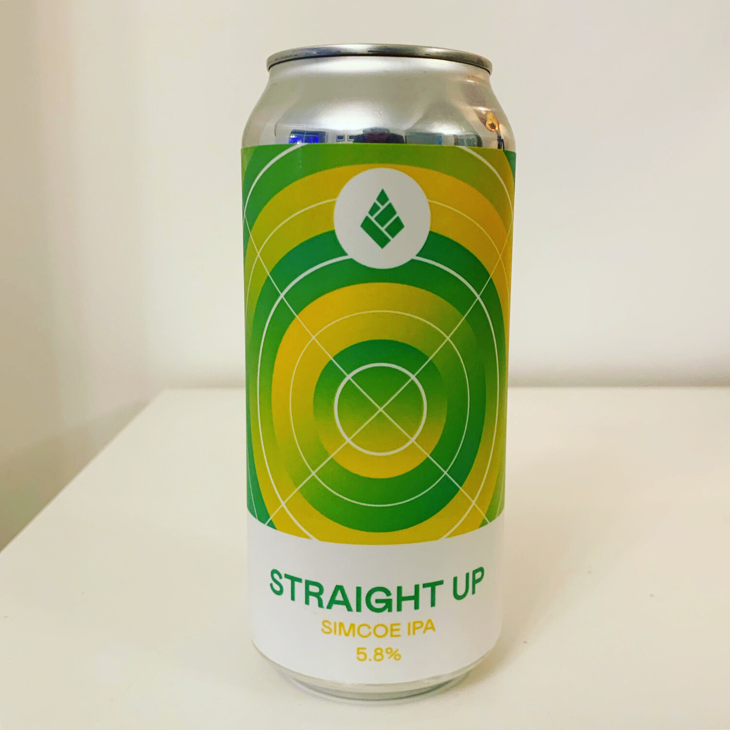 NEW Drop Project 'Straight Up' Simcoe Pale 440ml - 5.8%