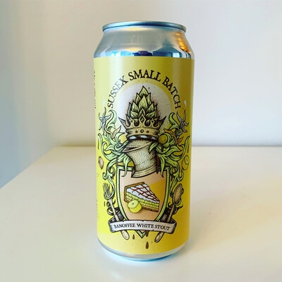 NEW Sussex Small Batch 'Banoffee' White Stout 440ml - 5.5%