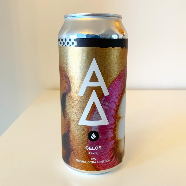 Alpha Delta 'Gelos' x Drop Project Collab IPA 440ml - 7.2%