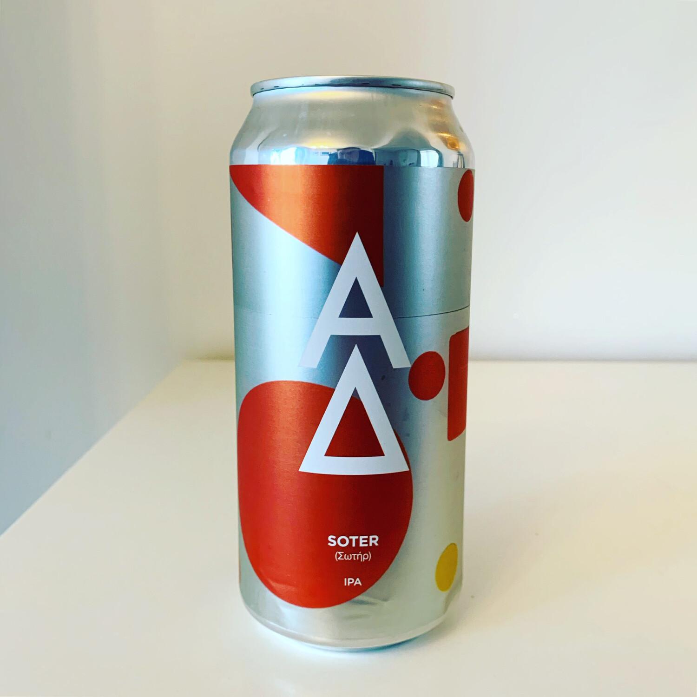 Alpha Delta 'Soter' IPA 440ml - 7%