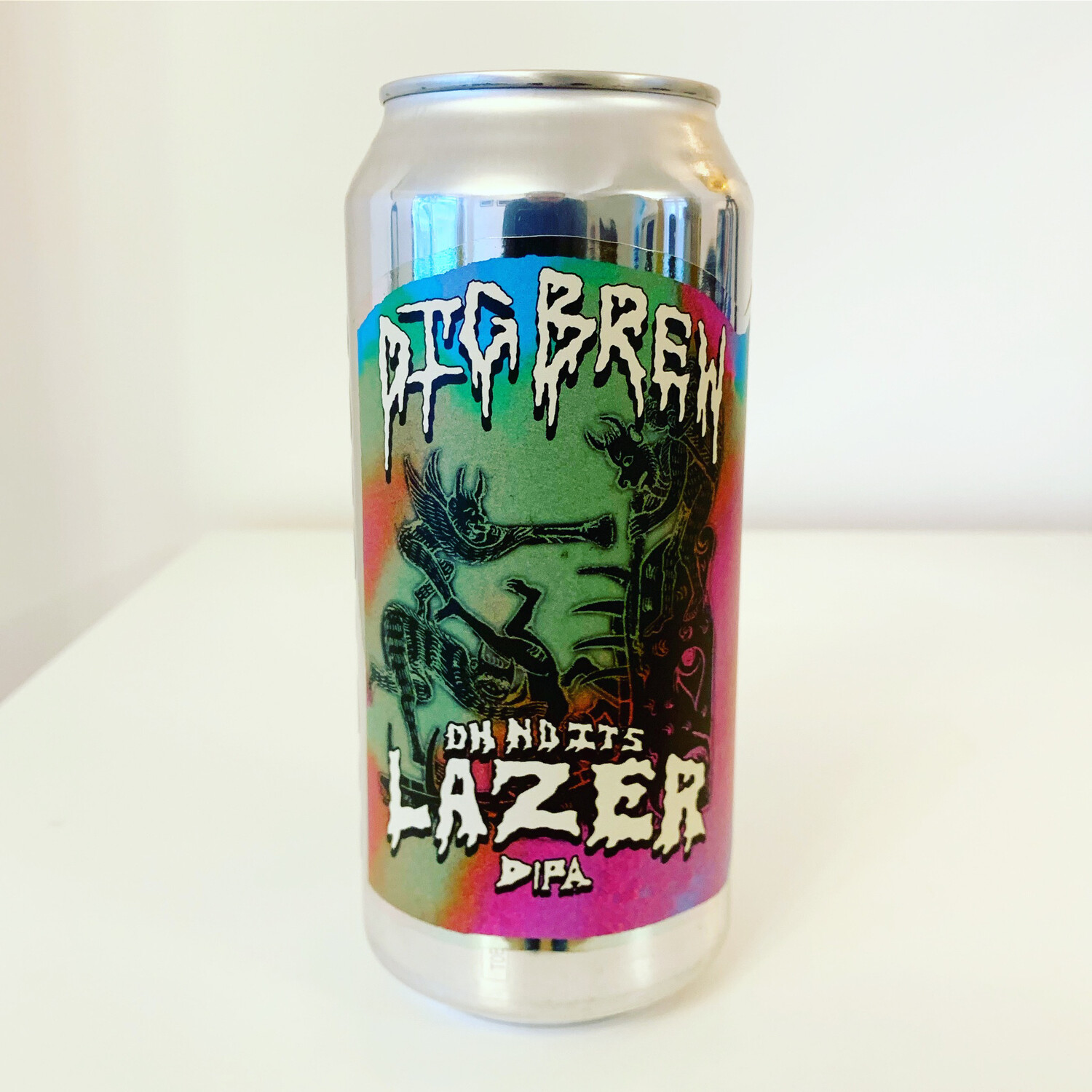 NEW Dig Brew 'Oh No, It's.. Lazer' DIPA 440ml - 8%