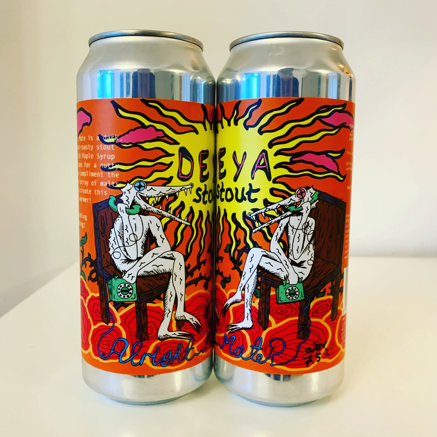 NEW DEYA 'Alright Mate' Imperial Stout 500ml - 7.5%