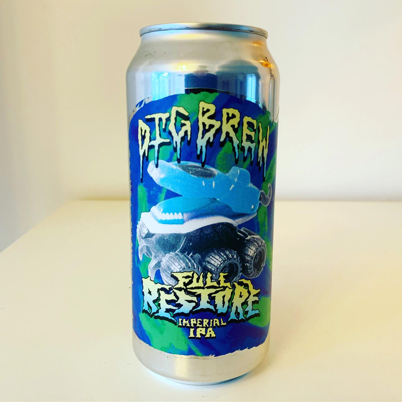 NEW Dig Brew 'Full Restore' TIPA 440ml - 9.6%