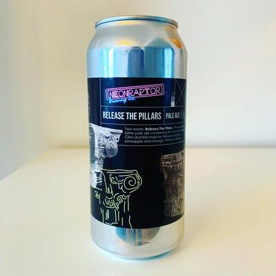 NEW Neon Raptor 'Release The Pillars' Pale 440ml - 5.1%