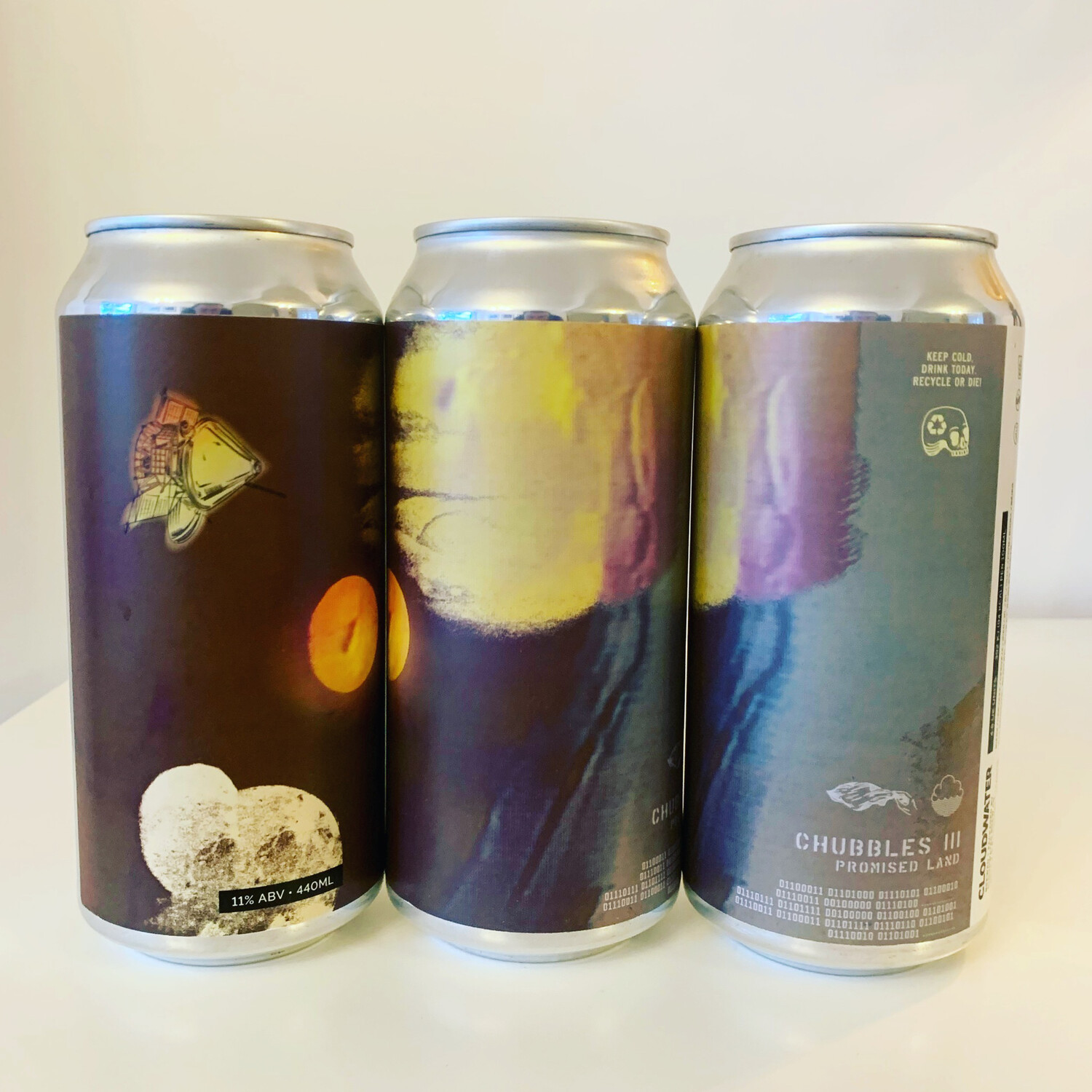 NEW The Veil x Cloudwater 'Chubbles III: Promised Land' TIPA 440ml - 11%