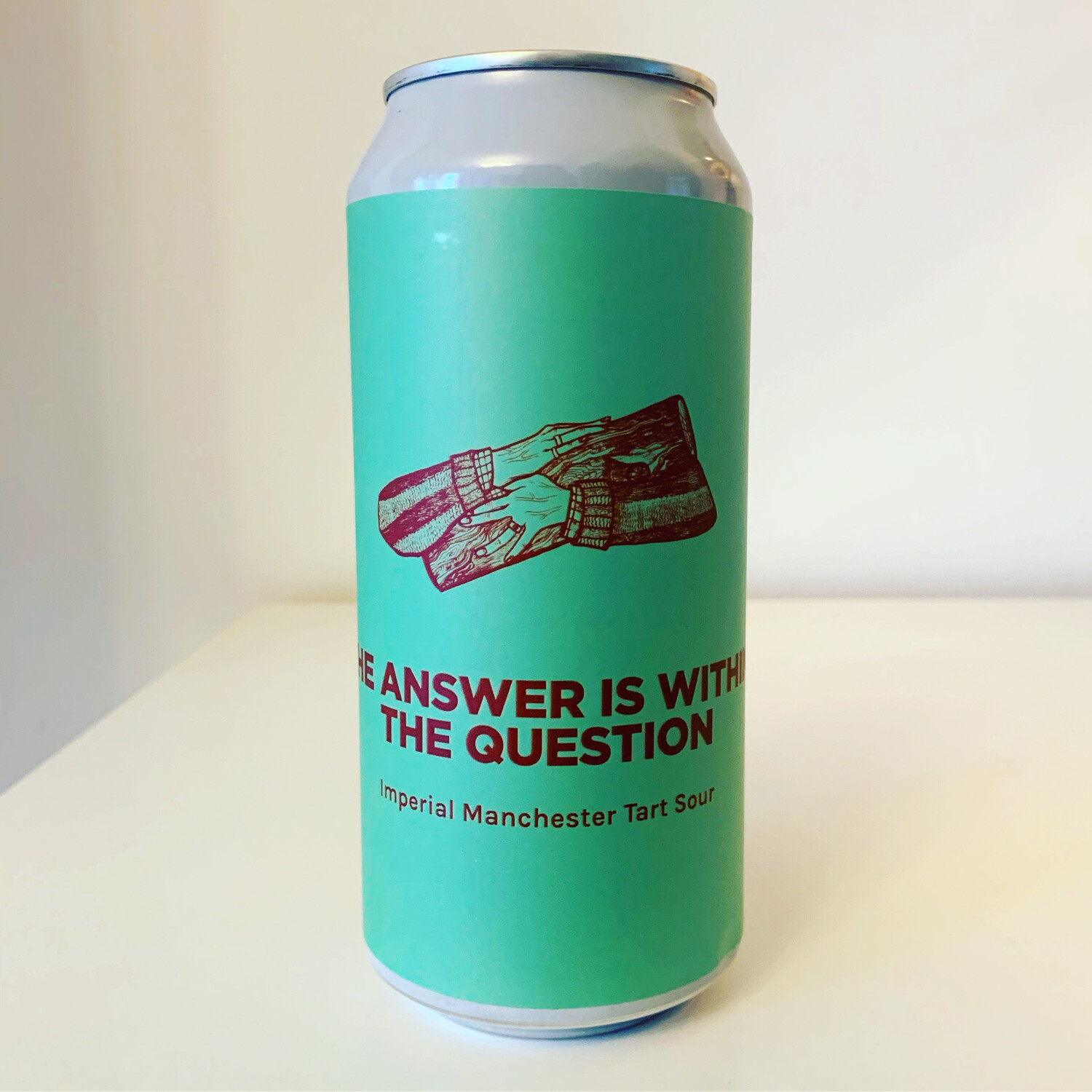 NEW Pomona Island x Cloudwater Collab 'The Answer Is Within The Question' Imperial Sour 440ml - 10%