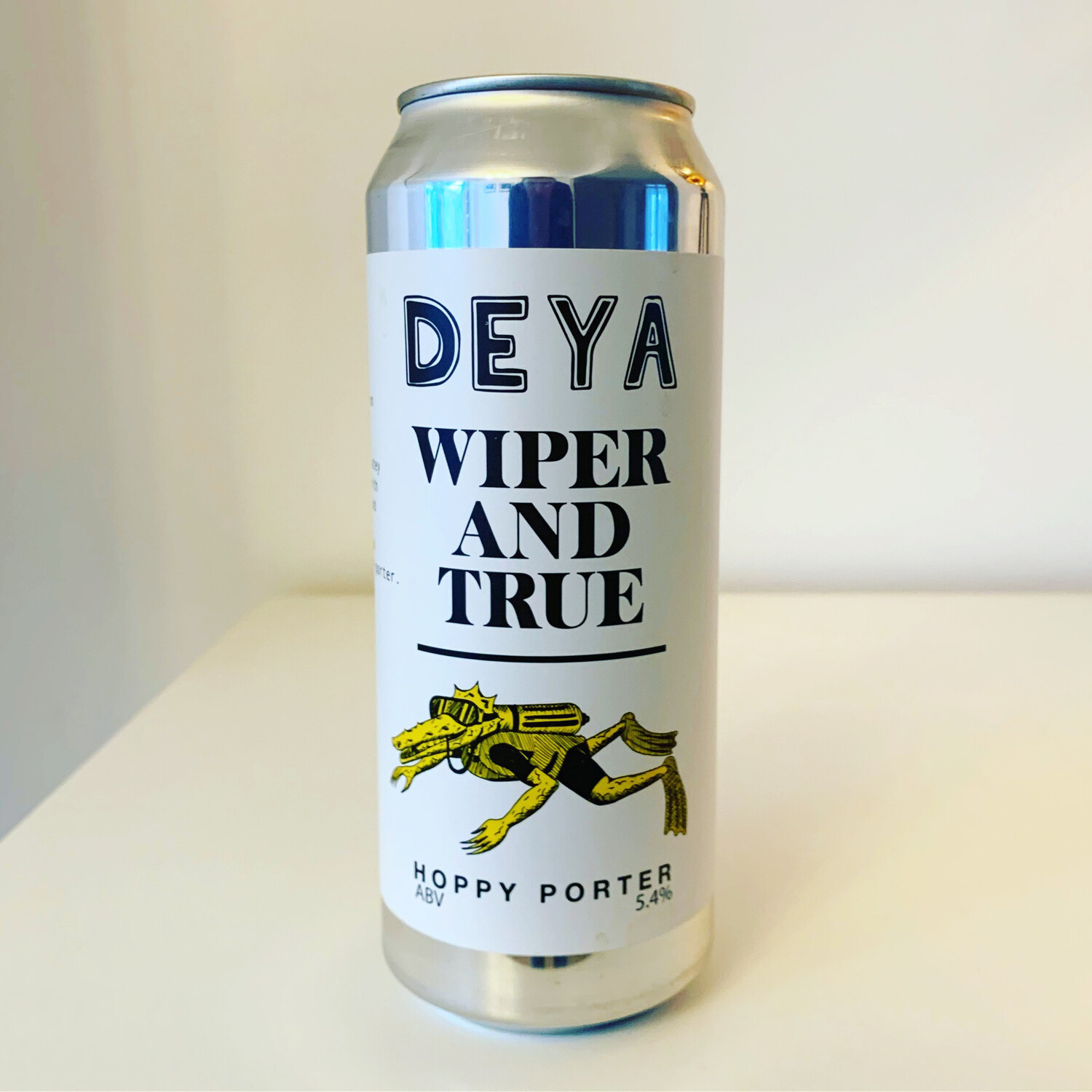 NEW Deya x Wiper & True Hoppy Porter 500ml - 5.4%