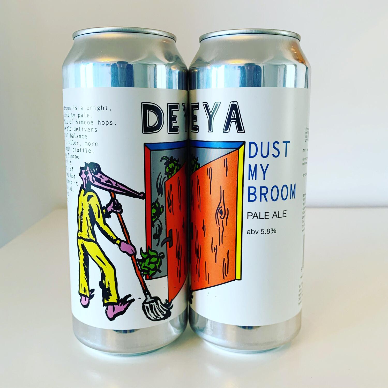 NEW DEYA 'Dust My Broom' Pale Ale 500ml - 5.8%