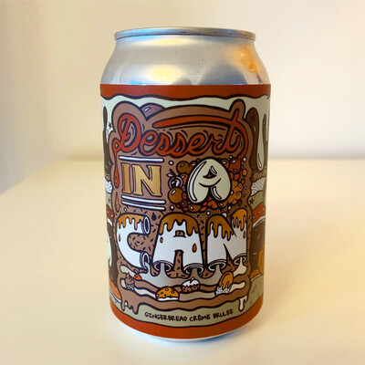 NEW Amundsen 'Dessert In A Can' Gingerbread Crème Brulee Imperial Stout 330ml - 10.5%
