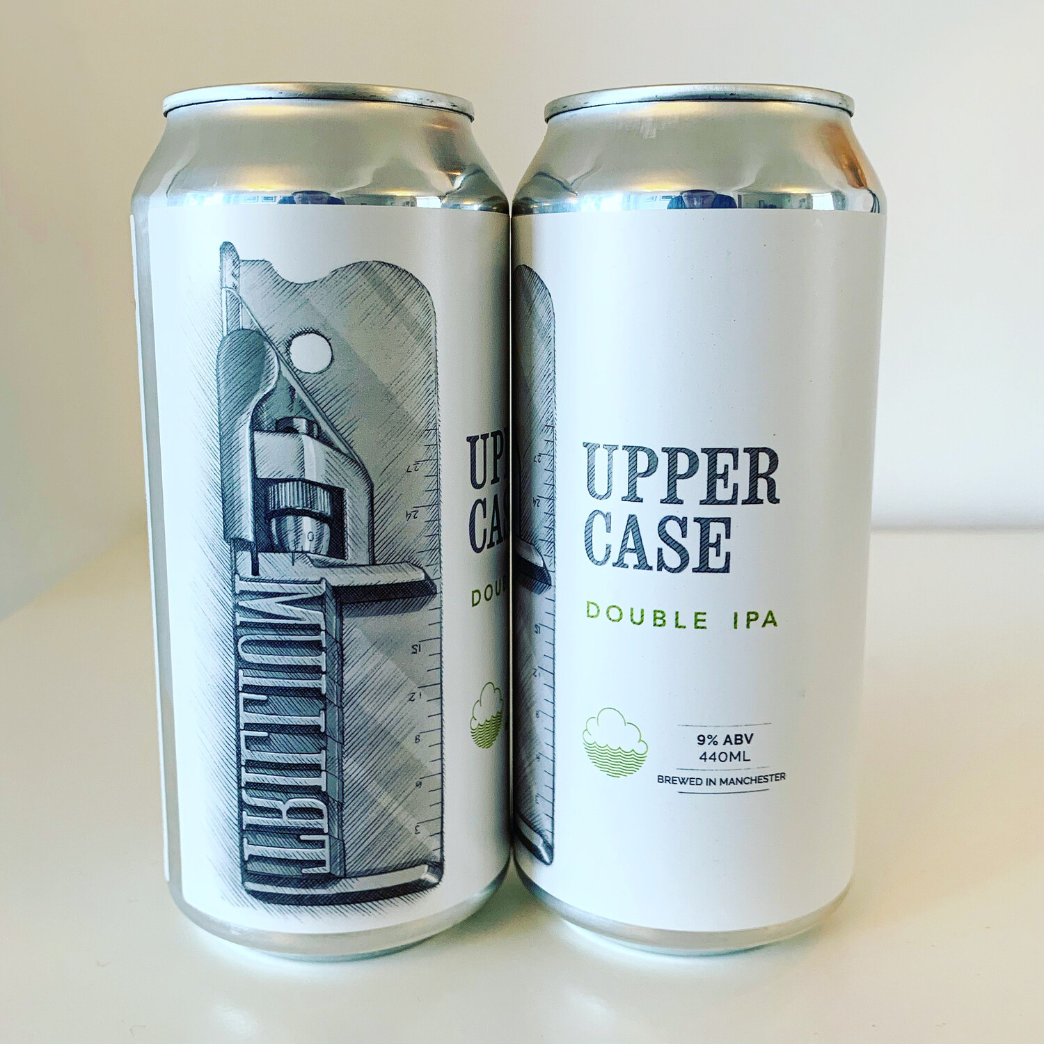 NEW Cloudwater x Trillium Collab 'UPPERCASE' DIPA 440ml - 9%