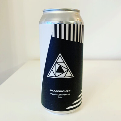 NEW Glasshouse 'Poetic Differences' Juicy Pale 440ml - 5.4%