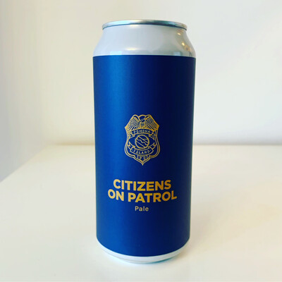 NEW Pomona Island 'Citizens On Patrol' DDH Pale Ale 440ml - 5.3%