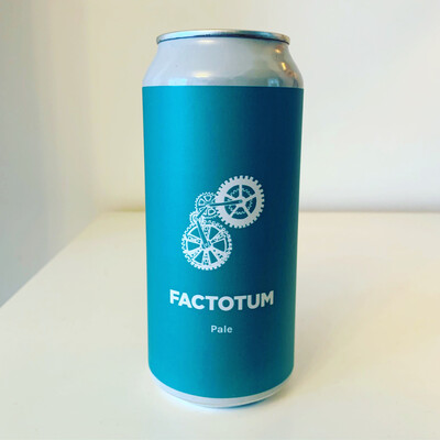 NEW Pomona Island 'Factotum' Pale Ale 440ml - 4%