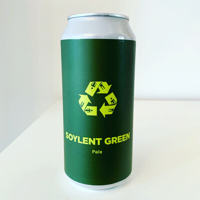 NEW Pomona Island 'Soylent Green' DDH Pale 440ml - 5.7%